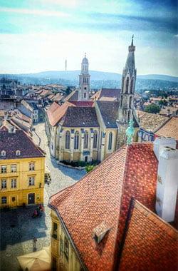 Sopron stadt